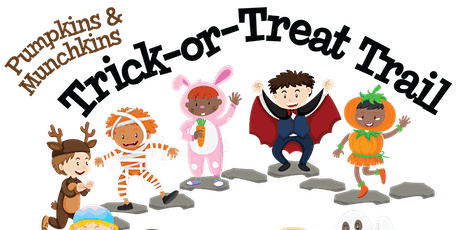 Pumpkin and Munchkin Trick or Treat Trail tickets