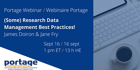 (Some) Research Data Management Best Practices! tickets