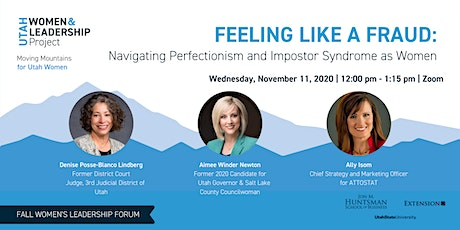 Feeling Like a Fraud: Navigating Perfectionism & Impostor Syndrome as Women tickets