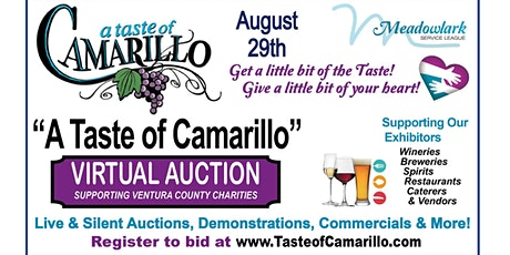 Virtual Auction for Taste of Camarillo tickets