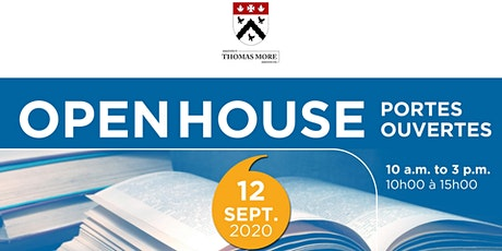In-Person Open House: Thomas More Institute tickets