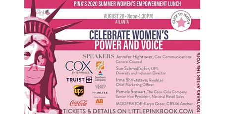 PINK's Summer Empowerment Event - Use Your Voice!  (FREE VIRTUAL EVENT) tickets