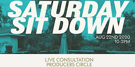 Saturday Sitdown - 8.22.20 tickets