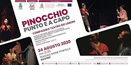 FMD2020 - Pinocchio punto e a capo  - 9° spettacolo - Bovino biglietti