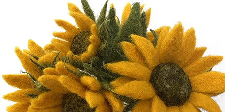 NEEDLE FELTED SUNFLOWER WORKSHOP tickets