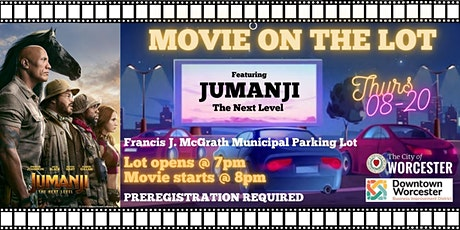 Jumanji: The Next Level - Movies on the Lot tickets