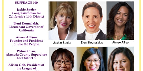 Suffrage 100: A Centennial Celebration  on Zoom tickets