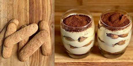 ONLINE cooking class - Tiramisù from scratch with Madebyflour biglietti