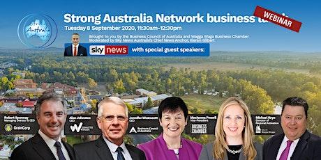 Strong Australia Network Business Webinar – Wagga Wagga tickets