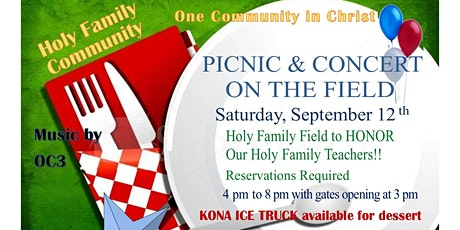 Holy Family Outdoor Picnic and Concert tickets