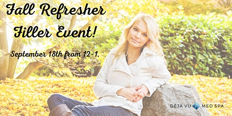 Fall Refresher Filler Event tickets