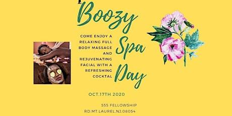 Boozy Spa Day tickets