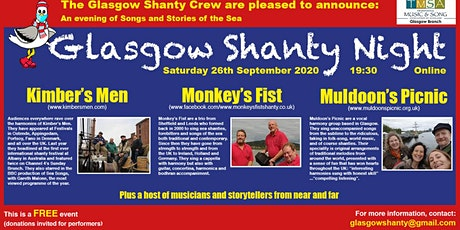 Glasgow Shanty Night tickets