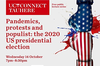 UC Connect public lecture: Pandemics, protests, and populists: the 2020 presidential election  tickets