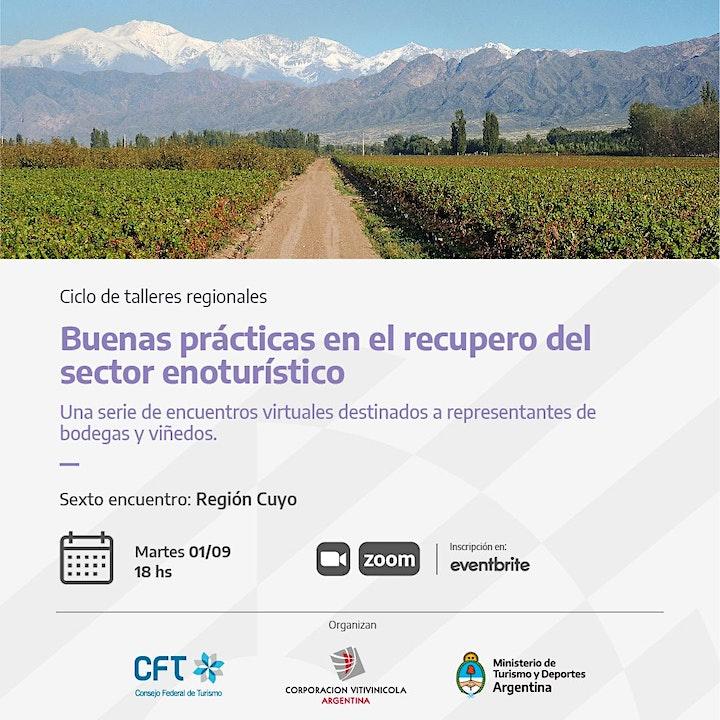 Imagen de BUENAS PRÁCTICAS EN EL RECUPERO DEL SECTOR ENOTURÍSTICO - Región CUYO