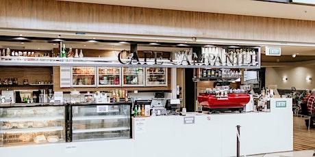 Coffee & Banana Bread on us! | Cafe Campanile | Seniors Week tickets