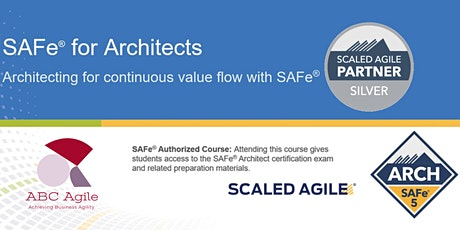 SAFe for Architects (5.0) Online tickets
