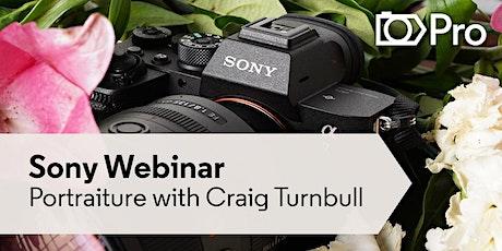 Webinar: Portrait Photography with Craig Turnbull - Sony Scene Photographer tickets