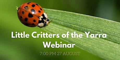 Little Critters of the Yarra Webinar tickets