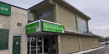 Jummah at Masjid Al Jannah | Aug 14th, 2020 tickets