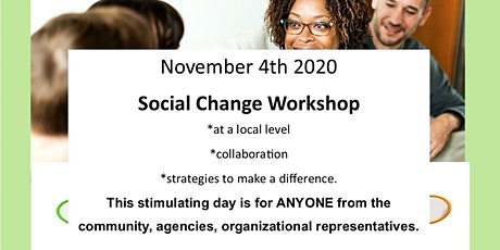 Social Change Workshop tickets