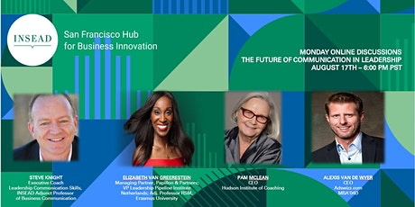 INSEAD SF Online Discussion: The Future of Communication in Leadership tickets