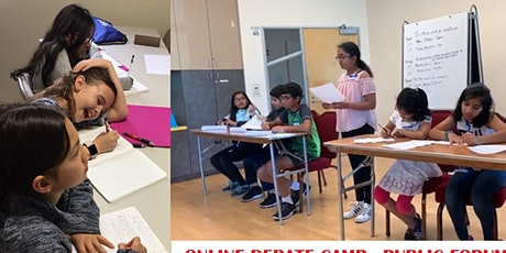 DEBATE-FALL 2020 ONLINE DEBATE Public Forum 9-14 yrs tickets