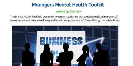 Managers Mental Health Toolkit tickets