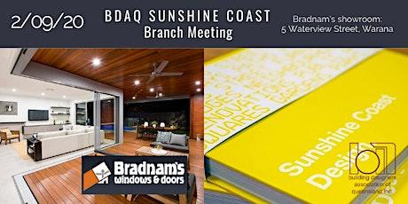 BDAQ SC Branch Meeting Sept. 2020 tickets