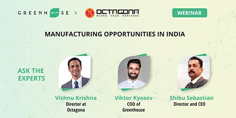 Manufacturing Opportunities in India tickets