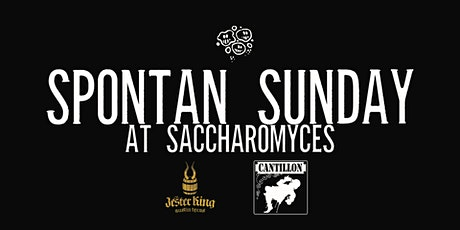 Spontan Sunday with Cantillion and Jester King tickets