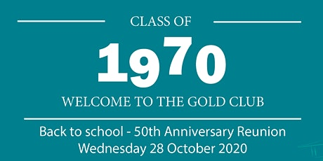 Churchlands Class of 1970 50th Anniversary Reunion tickets