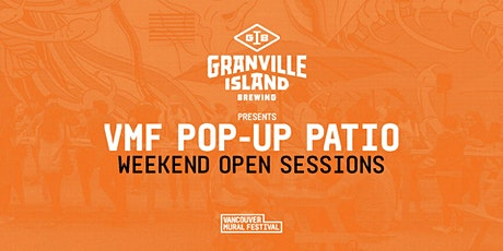 VMF POP-UP PATIO: Weekend Open Sessions tickets