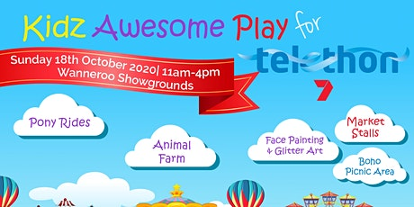Kidz Awesome Play for Telethon tickets