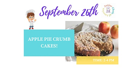 Kids (4-13) ONLINE Cooking Class - Apple Crumb Cakes tickets