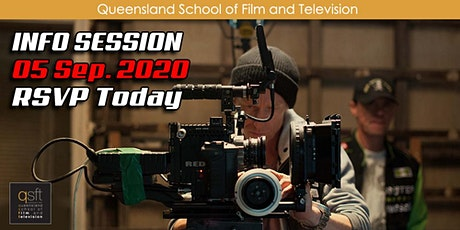 QSFT MEDIA & FILM SCHOOL CAREER INFO SESSION - Saturday, 5th September 2020 tickets