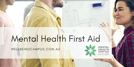 Mental Health First Aid - Community- Online Course tickets