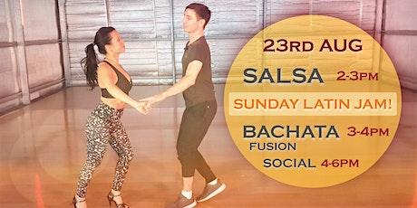Salsa & Bachata Sunday Workshop tickets