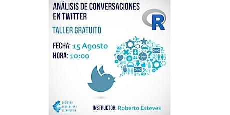 Análisis de conversaciones en Twitter biglietti
