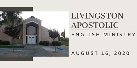 ENGLISH MINISTRY   Sunday, August 16, 2020 tickets