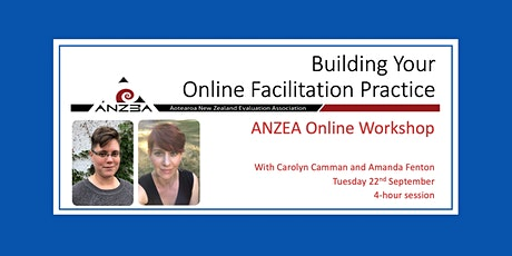 ANZEA online workshop: Building Your Online Facilitation Practice Tickets