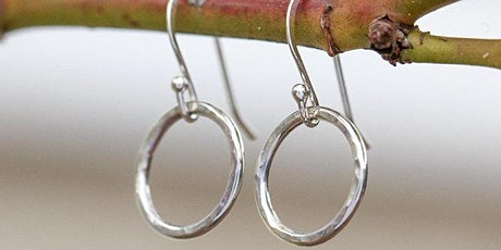 Metal Smithing.   Make your own 925 sterling silver earings. tickets