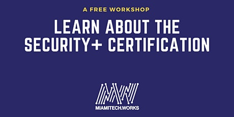 Learn about the Security+ certification tickets