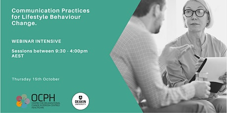 Communication Practices for Lifestyle Behaviour Change tickets