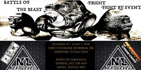 Battle Of The BEAST / Fright Fight BJJ Event tickets