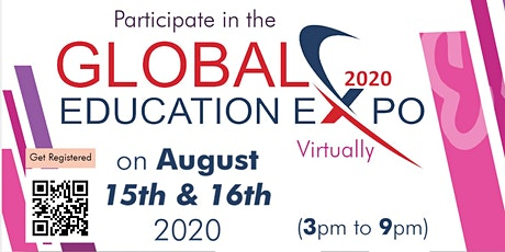 Global Education EXPO Aug 2020! tickets
