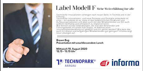 Label Modell F - Mehr Weiterbildung für alle Tickets