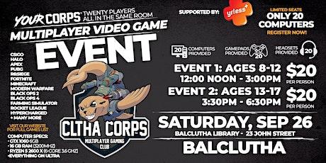 Balclutha Video Gaming Event - September 26 tickets