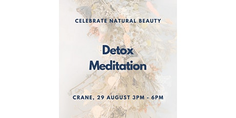 Natural Beauty Weekend: Detoxifying Meditation with Amelia Kang tickets