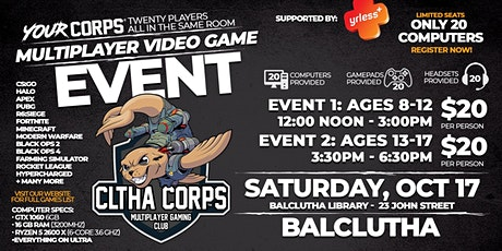 Balclutha Video Gaming Event - October 17 tickets